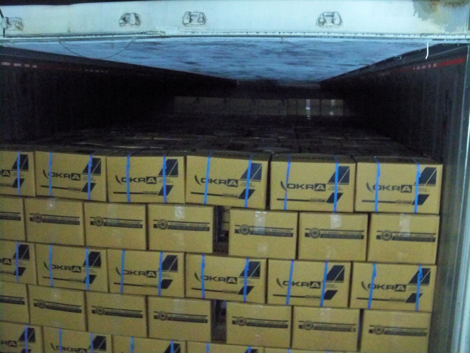 Frozen Okra Export